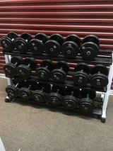 Dumbbells with Rack in Chicago, Illinois