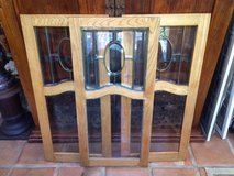 SET OF 3 PERFECT FRAMED STAINED GLASS in Travis AFB, California