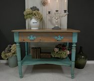 Beautiful Antique Farmhouse Table Entry Way Table Console Shabby Chic in Ramstein, Germany