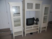 Shabby chic tv entertainment cabinet in Fairfield, California