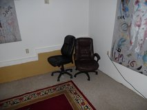 2 office chairs as is in Travis AFB, California