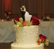 Wedding Cake Topper in Yorkville, Illinois