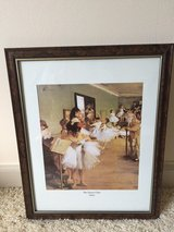Dance Class Matted and Framed Picture in Cherry Point, North Carolina