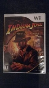 Indiana Jones Wii game NEW in Ramstein, Germany