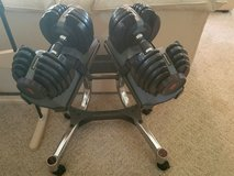 BOWFLEX Weights, Stand and Bench in Lockport, Illinois