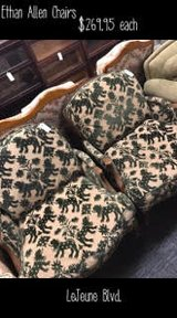 ETHAN ALLEN CHAIRS in Camp Lejeune, North Carolina