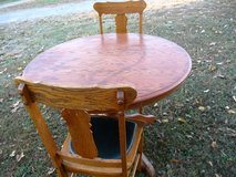 Oak Table & 2 Chairs in Fort Campbell, Kentucky