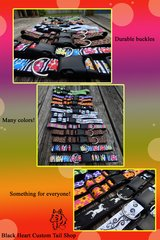 I have tons of custom dog collars/leashes for sale in Houston, Texas