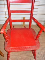 Red Rocking Chair in Pleasant View, Tennessee