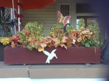 3 flower boxes in Watertown, New York