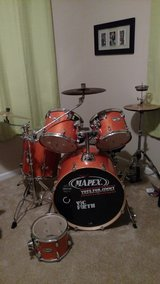 Mapex drumset in Beaufort, South Carolina