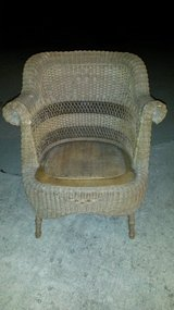 Wicker Accent Chair in Fort Leonard Wood, Missouri