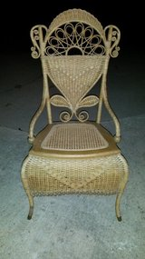 Accent Wicker Chair in Fort Leonard Wood, Missouri
