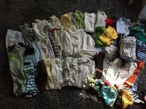 NB -3months baby boy clothes 85 pieces in Glendale Heights, Illinois