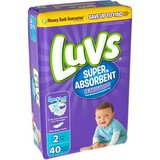 Luvs Super Absorbent Leakguard Size 2 Diapers 40 Count - NEW! in Joliet, Illinois