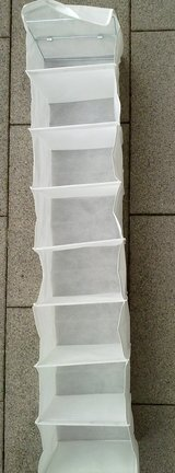 New - White Hanging Shoe / Clothes Storage / Organizer / Hangers in Ramstein, Germany