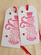 SALE - Handmade 7 Snowman Gift Tags in Ramstein, Germany