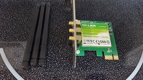 PCI-E x1 Dual Band Wirless Adapter (for desktop) in Hinesville, Georgia