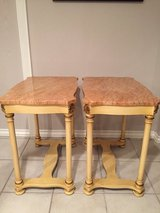 Tables:Pair of Marble End Tables in Batavia, Illinois