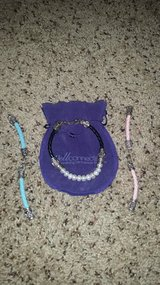 Real Leather & Pearl Interchangeable Bracelet in Dover, Tennessee