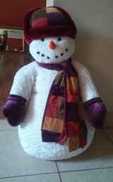 3' Tall Stuffed Snowman in Conroe, Texas