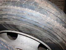 Tire, truck  275 80R 24.5 mounted in Alamogordo, New Mexico
