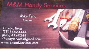 M&M Handy Services in Houston, Texas