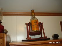 vintage whiskey bottle and stand  gallon in Fort Campbell, Kentucky