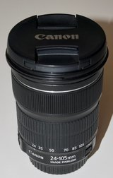 Canon EF 24-105mm STM Zoom Lens for Canon Camera in Byron, Georgia