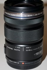 Olympus M.Zuiko 12-50mm f3.5-6.3 EZ Lens for M4/3 for Olympus or Panasonic Camera in Byron, Georgia