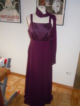 Maroon Evening Gown-Size 14 in Ramstein, Germany