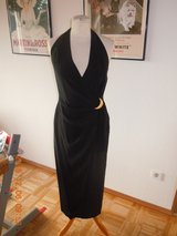 Black Evening Dress-Size 6 in Ramstein, Germany