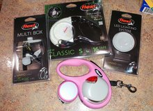 Flexi Small Pink 16ft Retractable Dog Leash Set in Kingwood, Texas