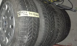 bmw wInther tires and wheels in Ansbach, Germany