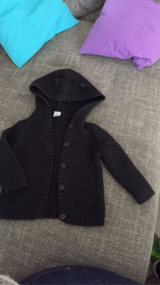 Black knitted jacket ( carters) in Ramstein, Germany