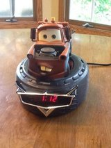 CARS Tow Mater Radio/Talking Alarm Clock in Lockport, Illinois