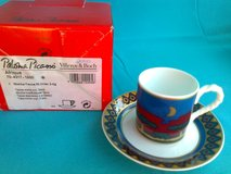 Villeroy & Boch espresso cups and saucers (Collectable) in Grafenwoehr, GE