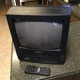 "14"" Color TV w/ Built-in VCR in Perry, Georgia"