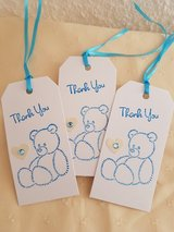 5 Thank You Gift Tags Handmade in Ramstein, Germany