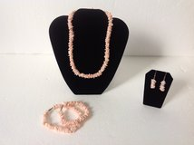 New! Peach Necklace Bracelet & Earrings set in Fort Campbell, Kentucky