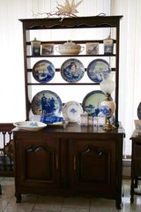 beautiful French cabinet with plate board in Ramstein, Germany