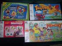 Board Games All Complete Memory Tail Spin May I Memory Funny Faces Cootie Picionary Dumbo Domino... in Alamogordo, New Mexico