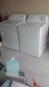 New, never used Amana Washer/Dryer in Conroe, Texas