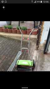 lawn mover in Ramstein, Germany