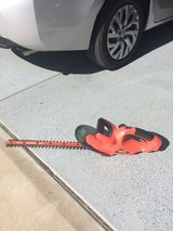Black n Decker Hedge Hog trimmer in Vista, California