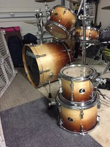 Sonor Force 3007 six-piece maple drums includes mount hardware! in Beaufort, South Carolina