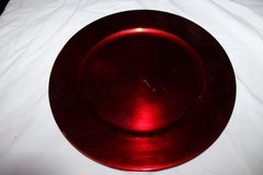 Red and Silver Plates in Fairfield, California
