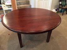 Crate & Barrel Round Dining Table in Naperville, Illinois