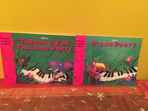 Bastiens' Invitation to Music Piano children's lessons theory books in Oswego, Illinois