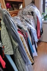Women clothing right out of my closets and some men clothing in Ramstein, Germany